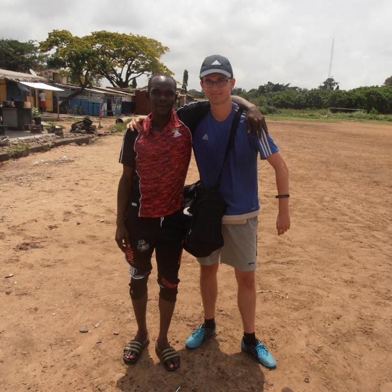 Julien Q in Ghana